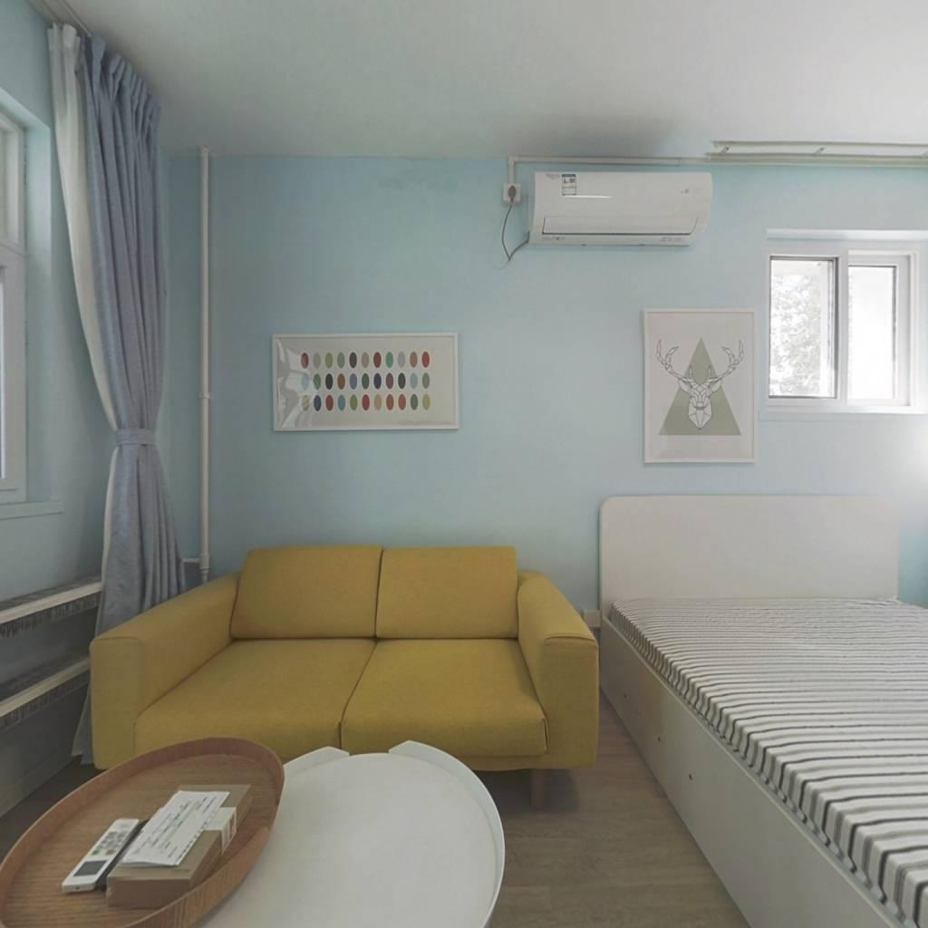 整租·呼家楼南里 2室1厅 南卧室图
