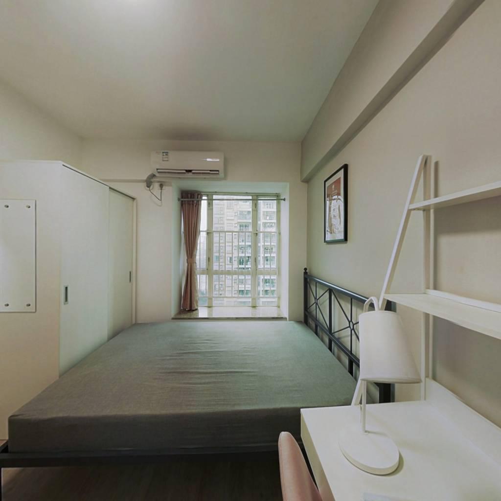 合租·富力半岛花园 4室1厅 西卧室图