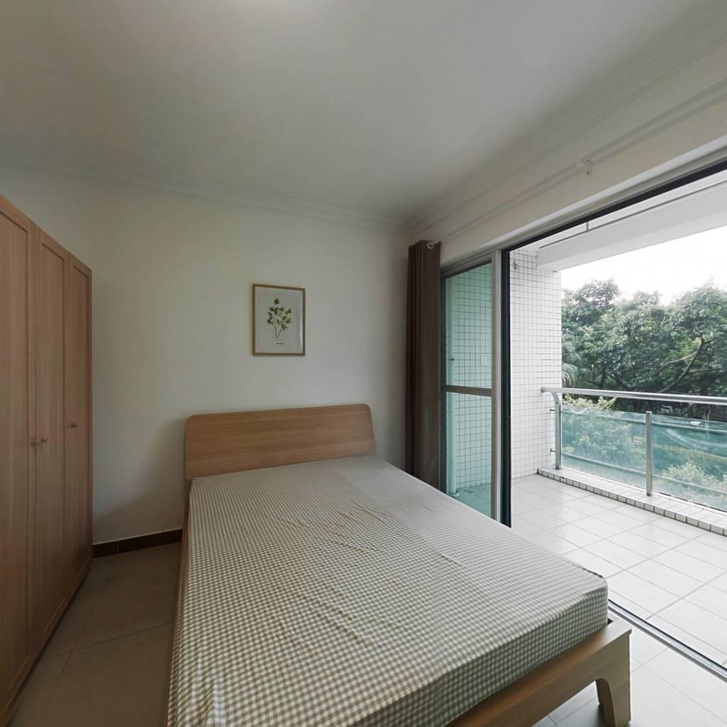 合租·金碧花园第三金碧 4室1厅 西卧室图