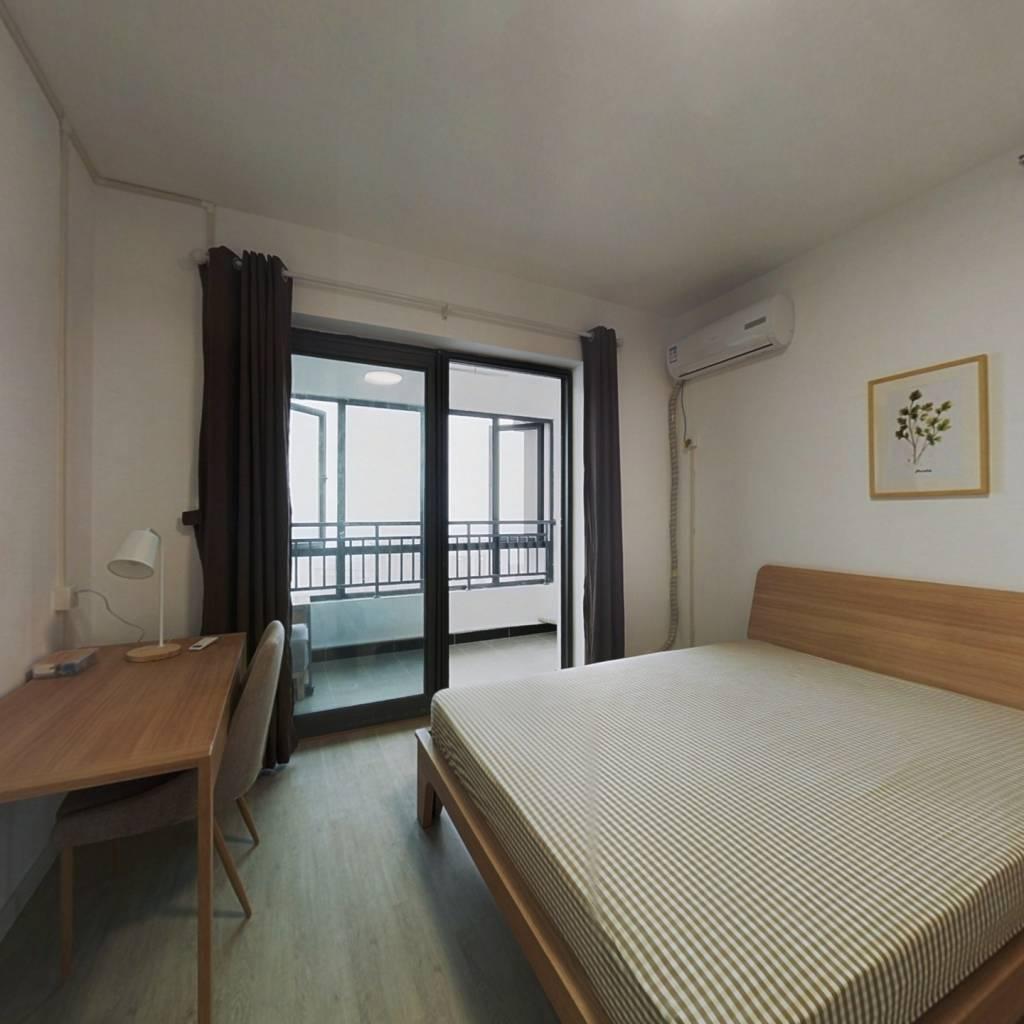 合租·福星华府誉境 4室1厅 西卧室图