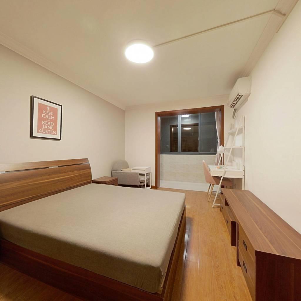 合租·薛家浜路242弄 2室1厅 北卧室图