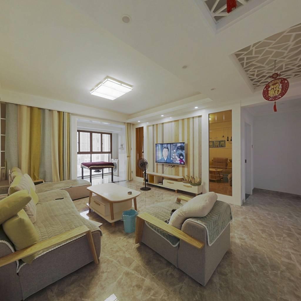 上江界精装三房,户型通透,家具家电齐全,拎包入住