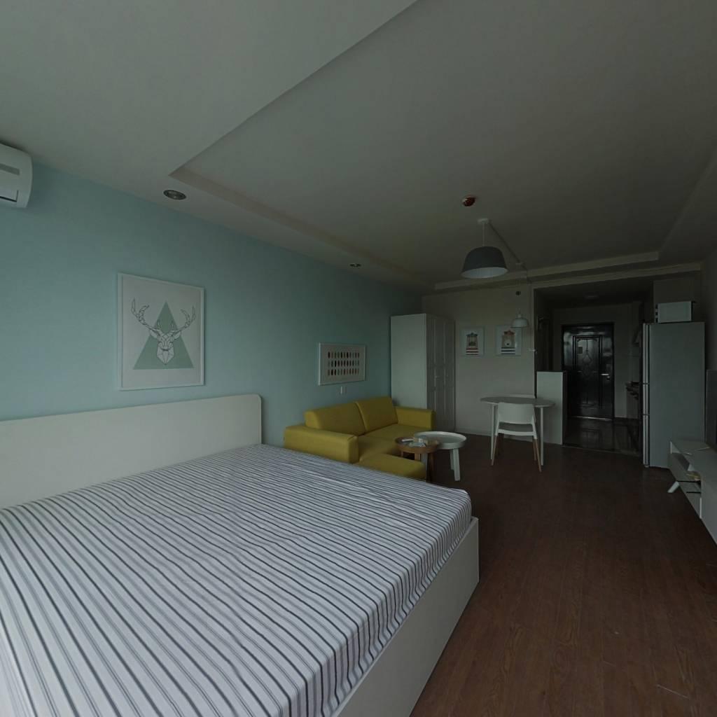 整租·巨福公寓 1室1厅 东卧室图