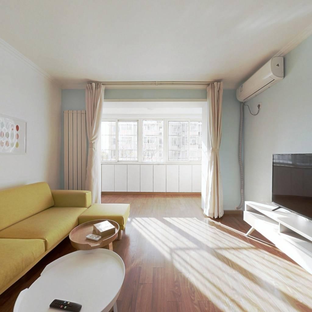 整租·富锦嘉园四区 2室1厅 南北卧室图