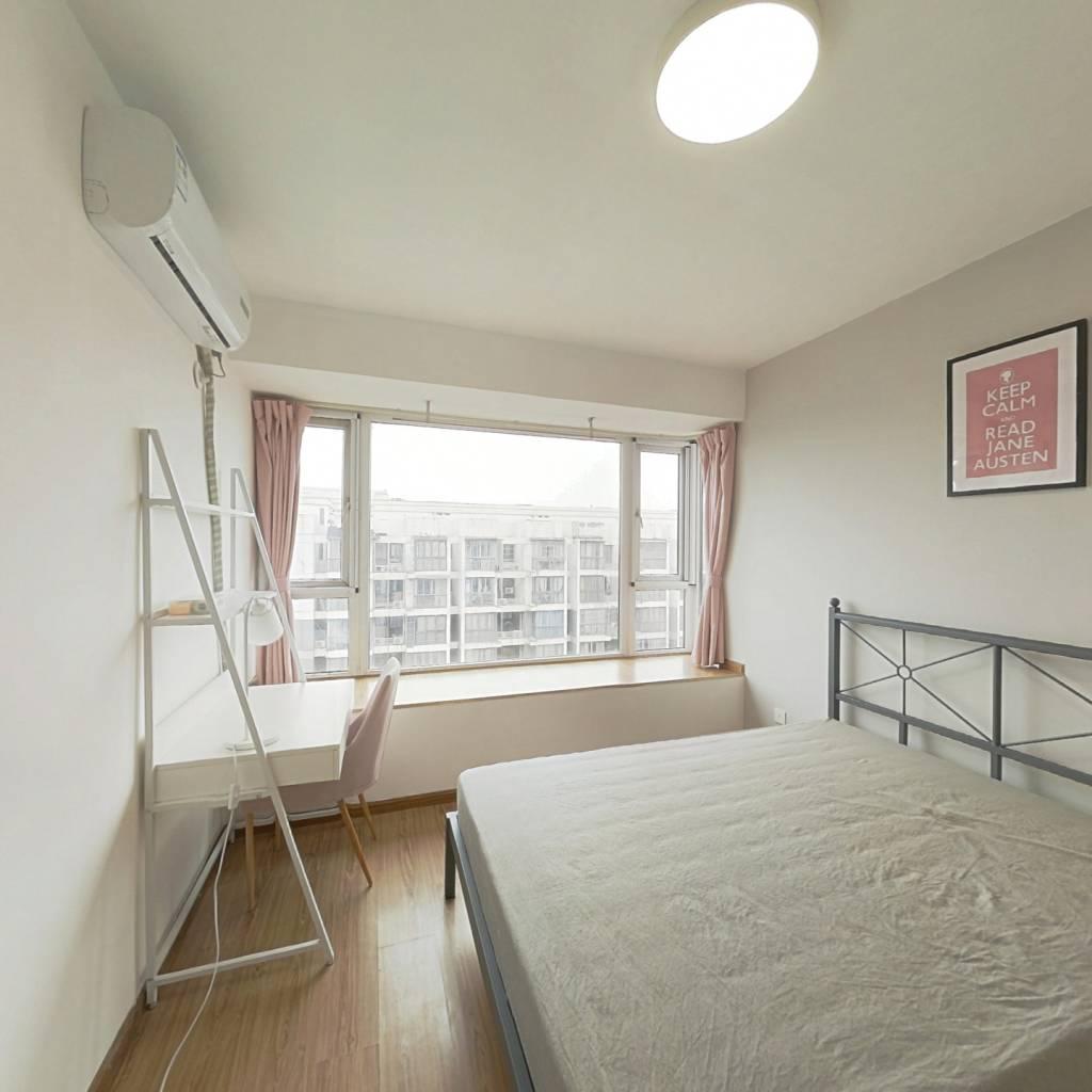 合租·金阳易诚国际 3室1厅 北卧室图