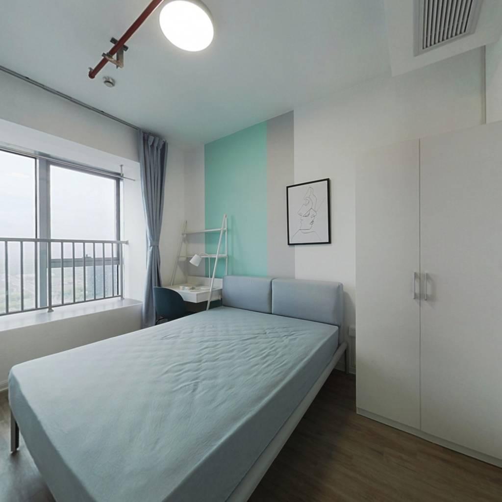 合租·奥克斯时代未来之城 5室1厅 南卧室图