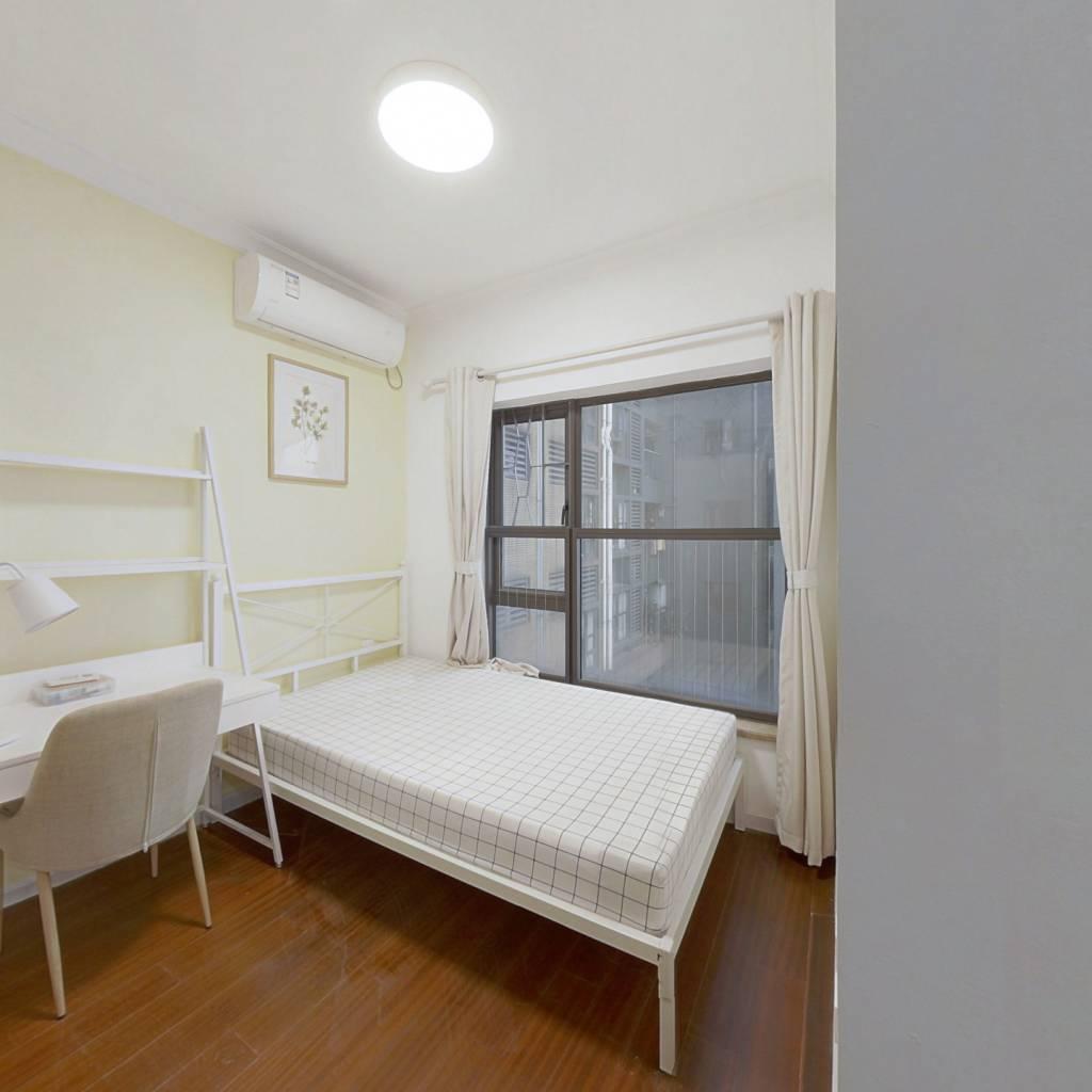合租·万科金色荔苑 4室1厅 北卧室图