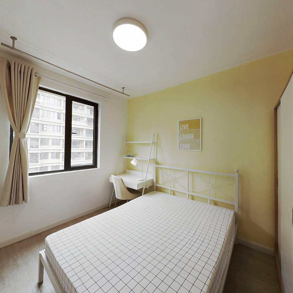 合租·花园府 5室1厅 北卧室图
