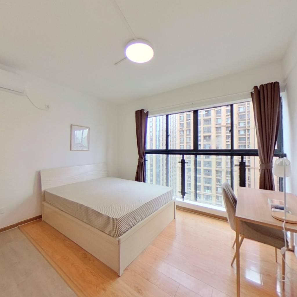 合租·时代晶座(高新) 4室1厅 北卧室图