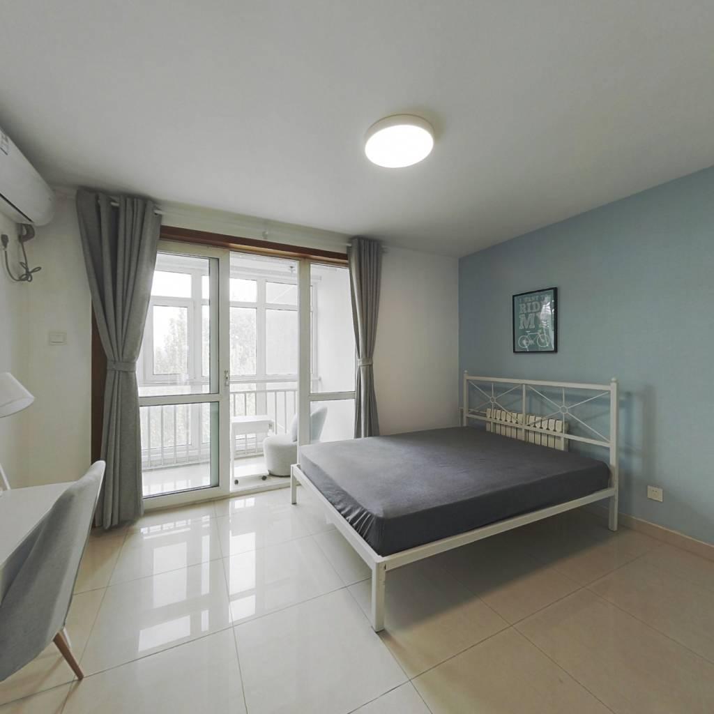 合租·锦顺佳园 3室1厅 北卧室图