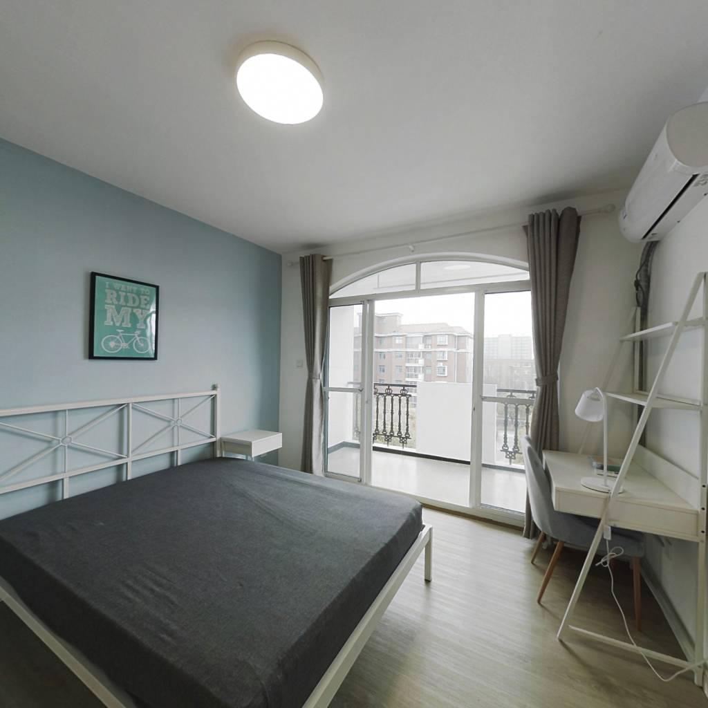合租·爱法花园(二期) 3室1厅 南卧室图
