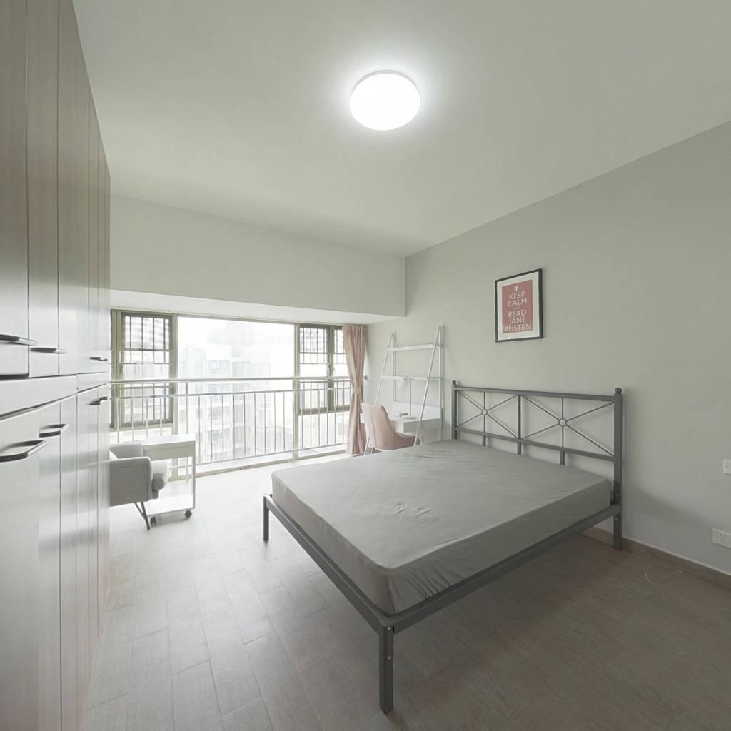 合租·碧海富通城一期 4室1厅 南卧室图