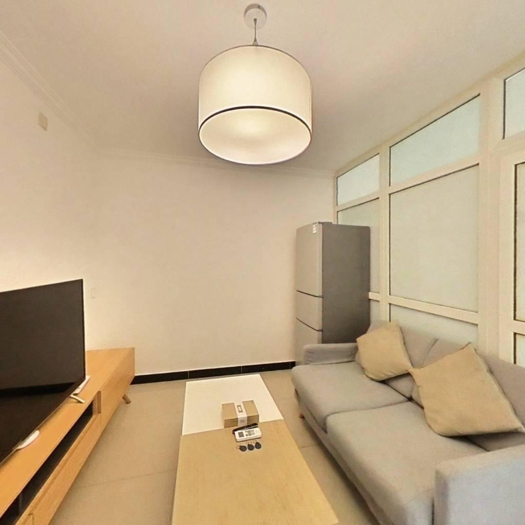 整租·毛纺厂南小区 2室1厅 南卧室图