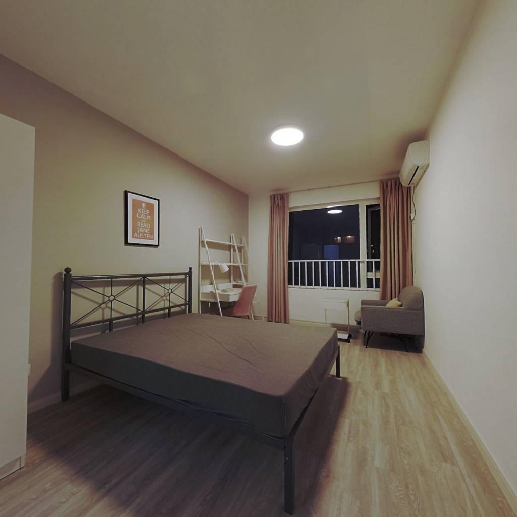 合租·滨江江南之星 4室1厅 南卧室图