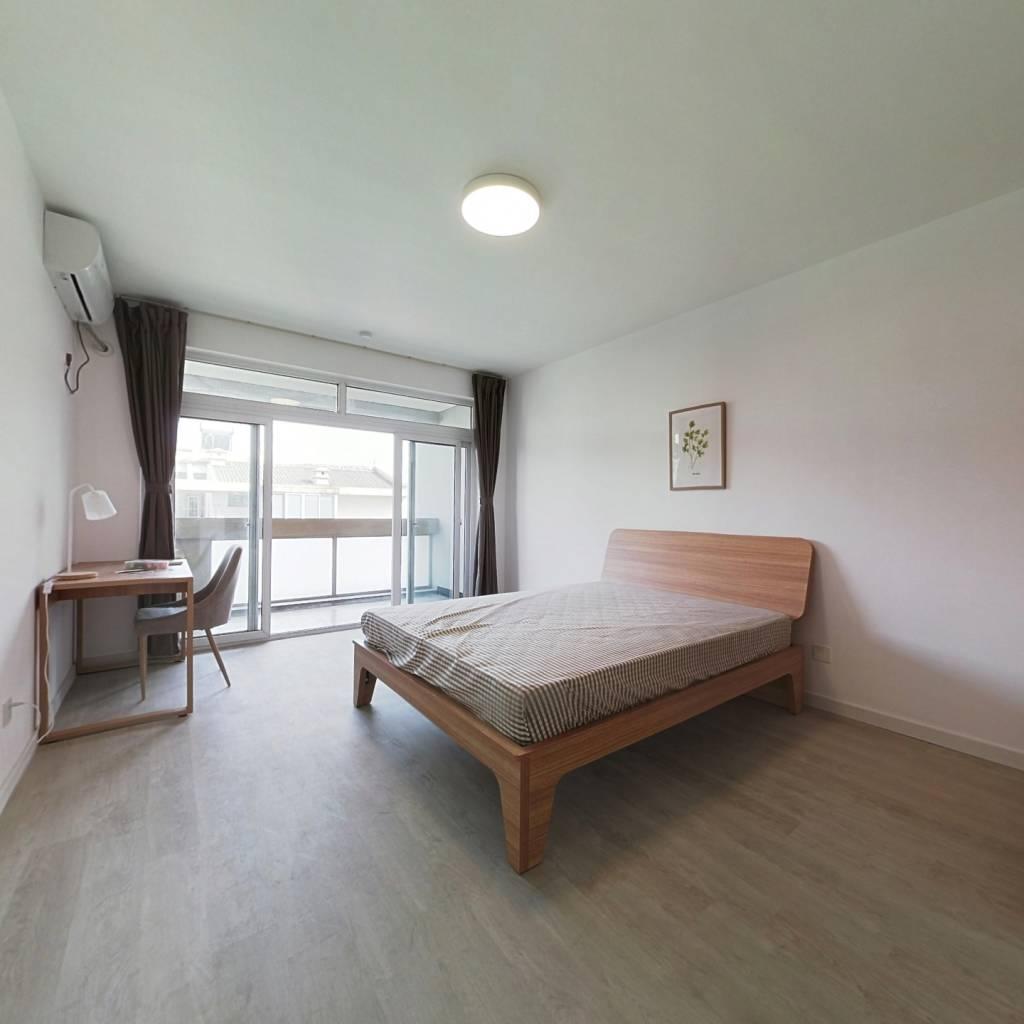 合租·清怡花苑 5室1厅 南卧室图