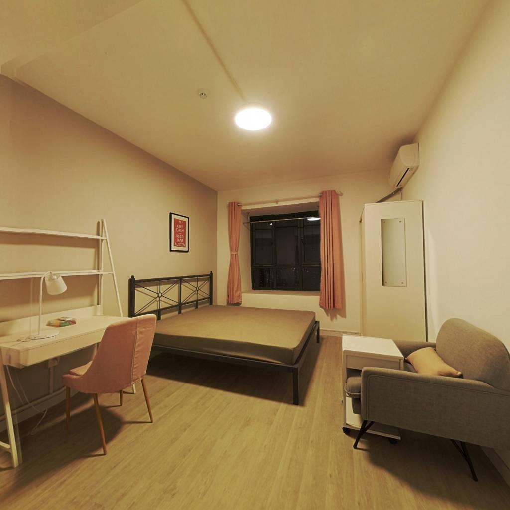 合租·姚家岭新城 4室1厅 北卧室图