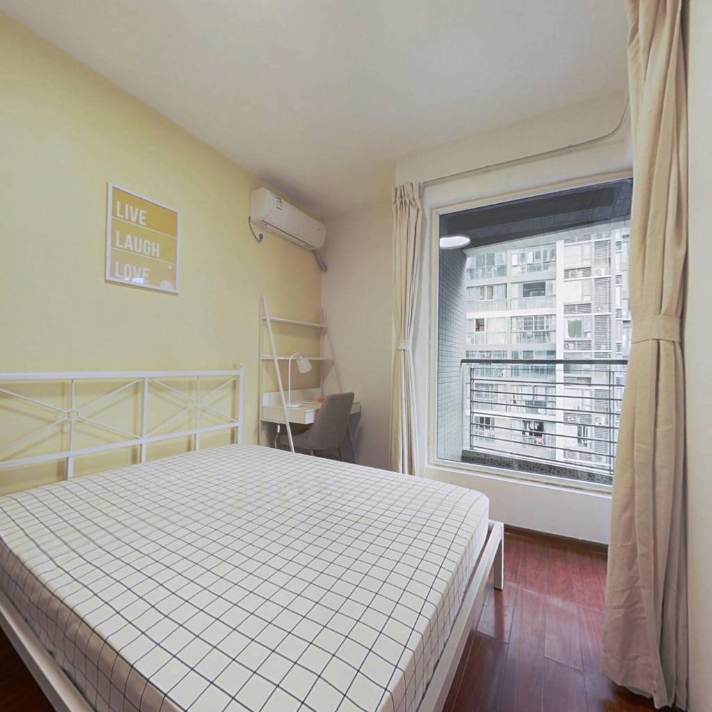 合租·天空城 3室1厅 南卧室图