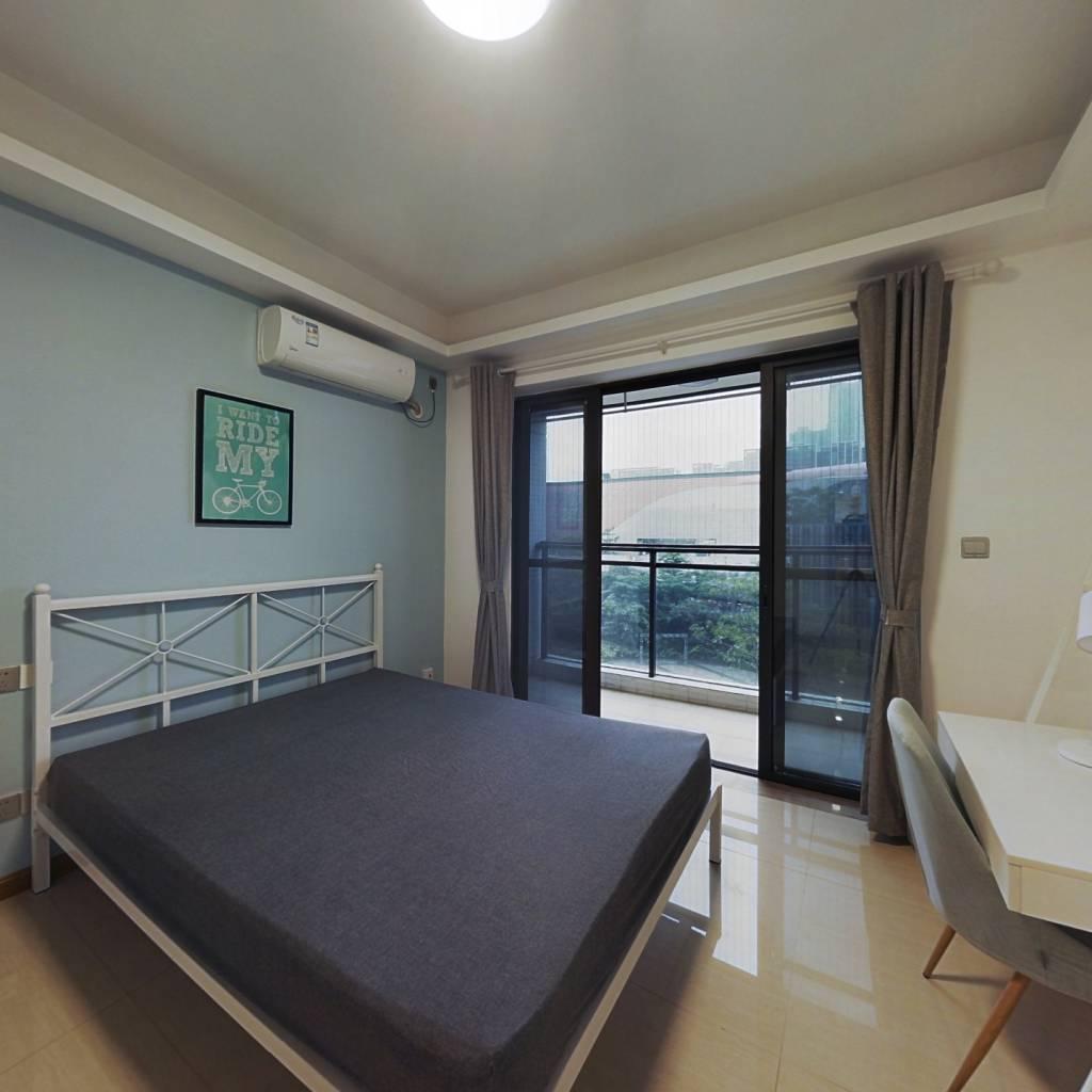 合租·亚运城天荟 4室1厅 西卧室图
