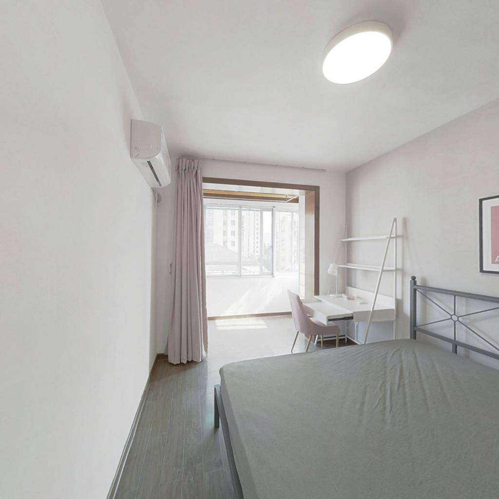 合租·师苑新村 4室1厅 西卧室图