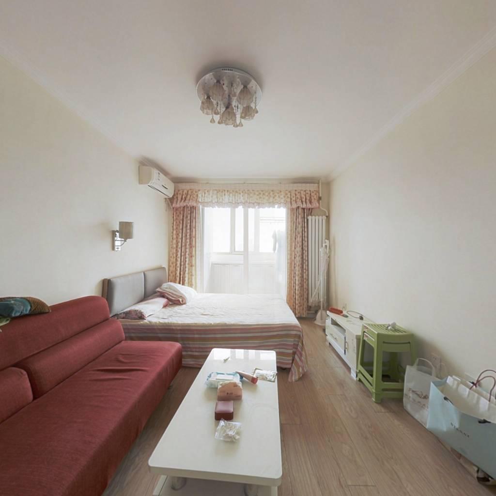 翠微中里精装修的两居室,满五年唯一,高楼层!