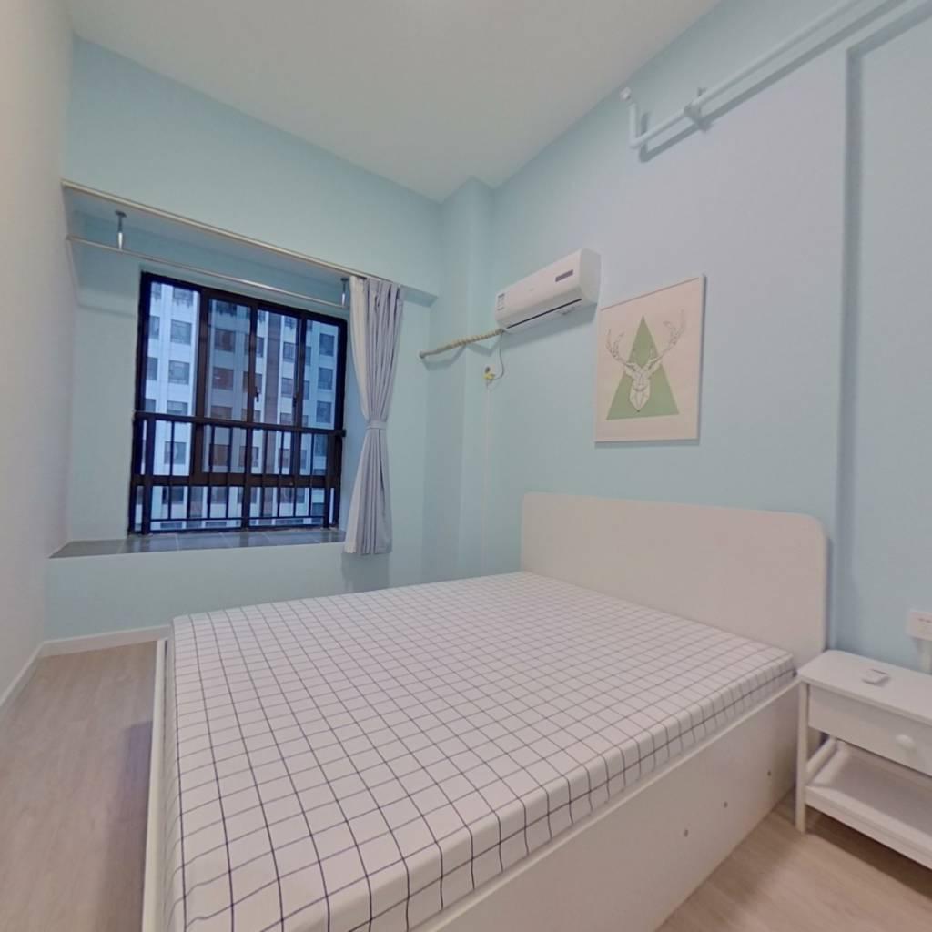 整租·卓越时代广场 2室1厅 南卧室图