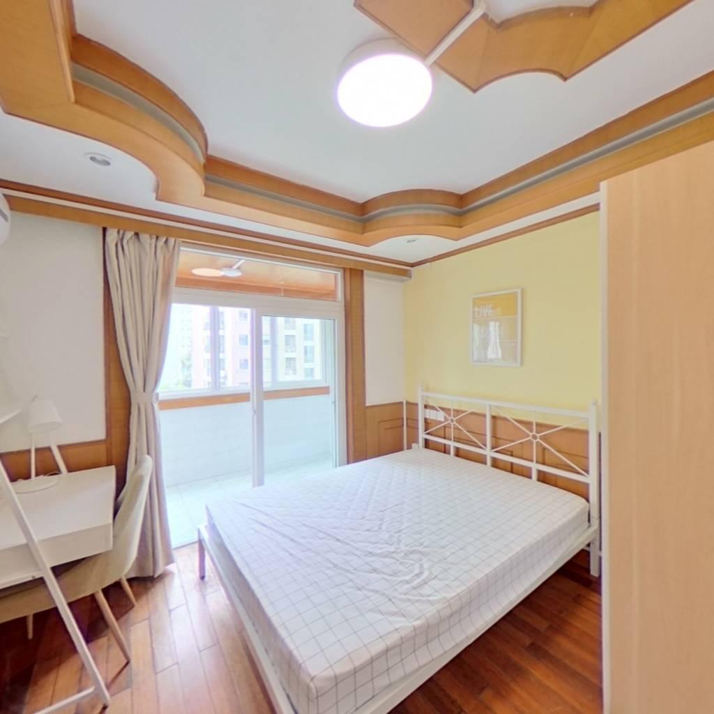 合租·翠苑三区 4室1厅 南卧室图