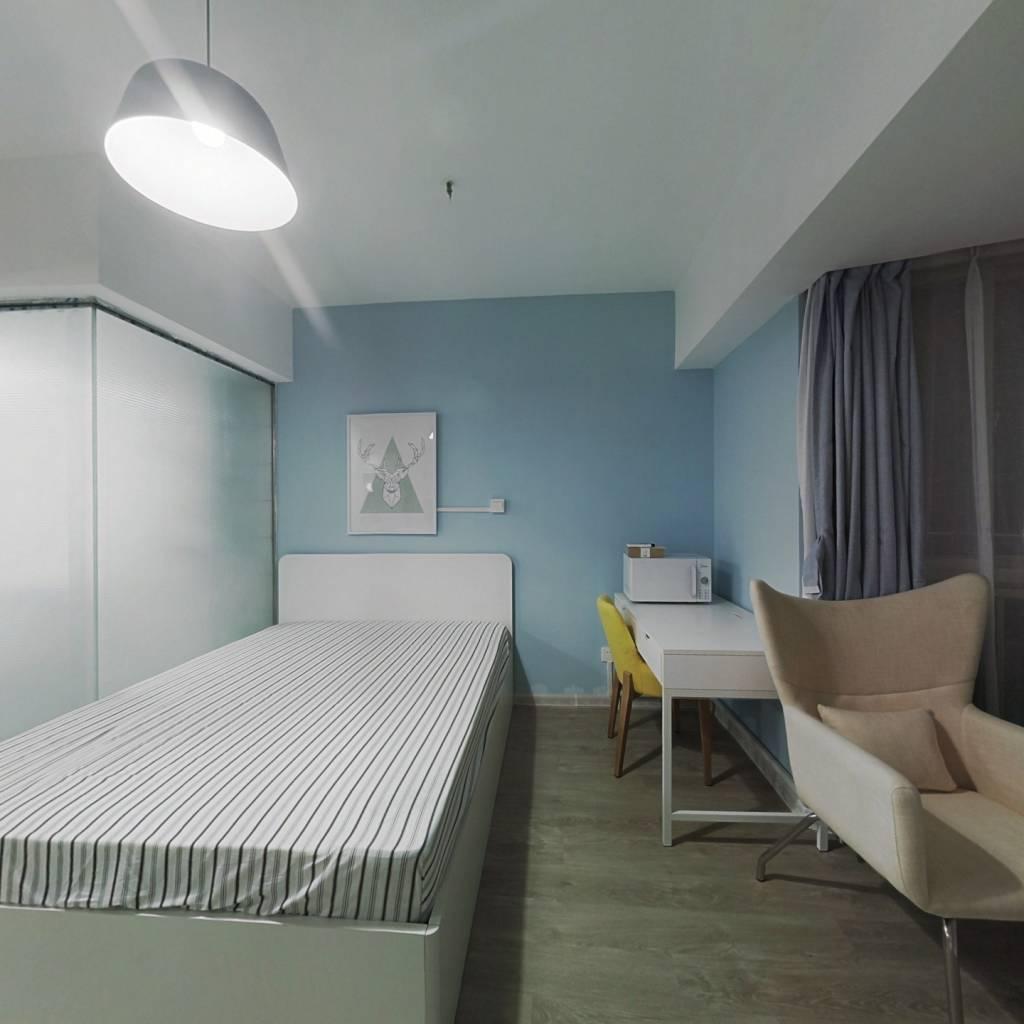 整租·阳光金峰阁 1室1厅 西卧室图