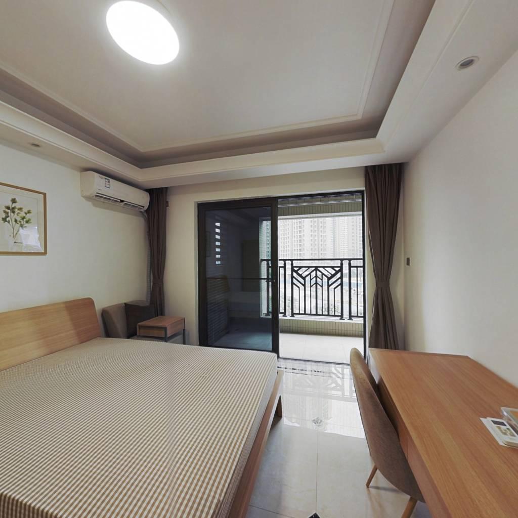 合租·中海锦观华庭(D区) 4室1厅 南卧室图