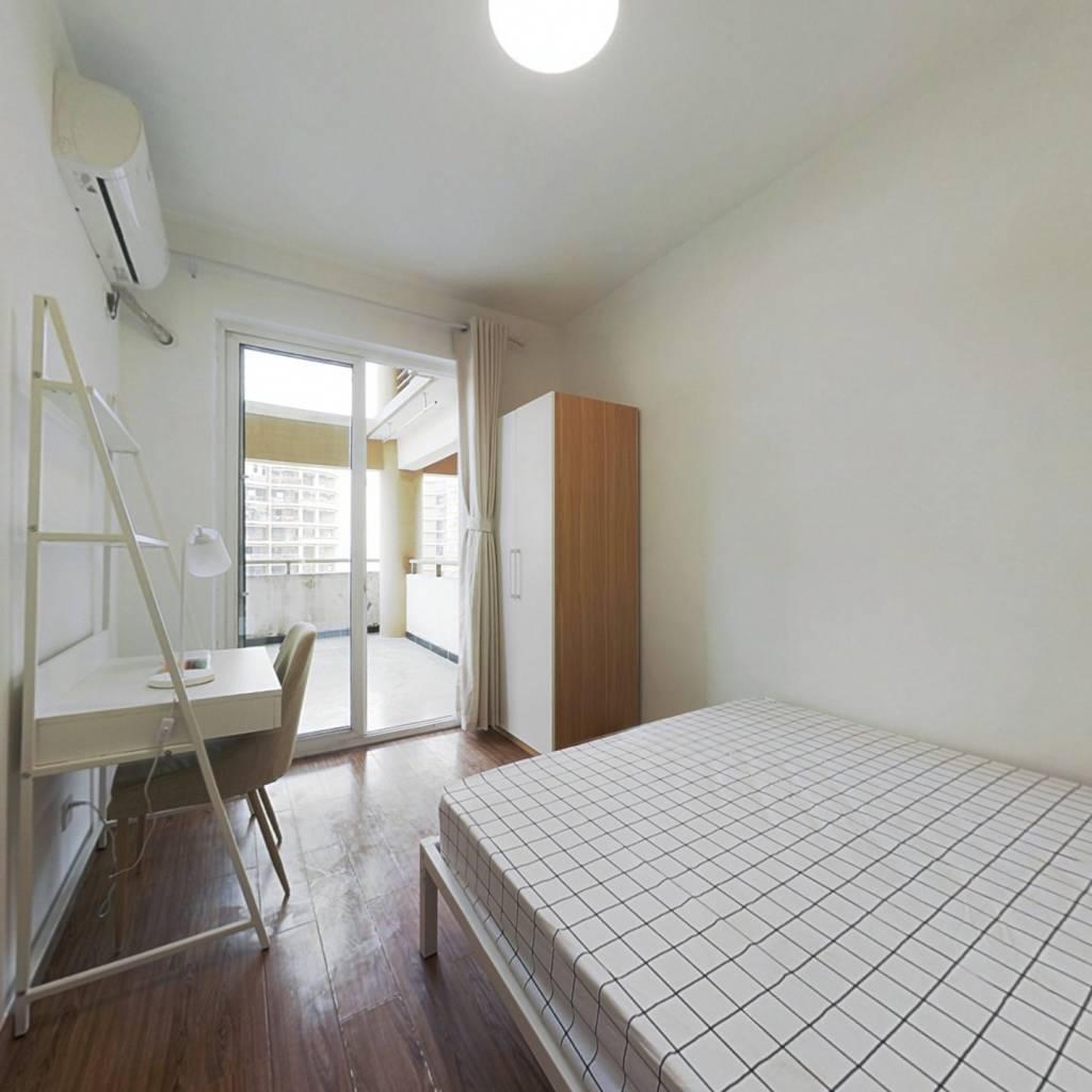 合租·远大都市风景四期 4室1厅 东卧室图