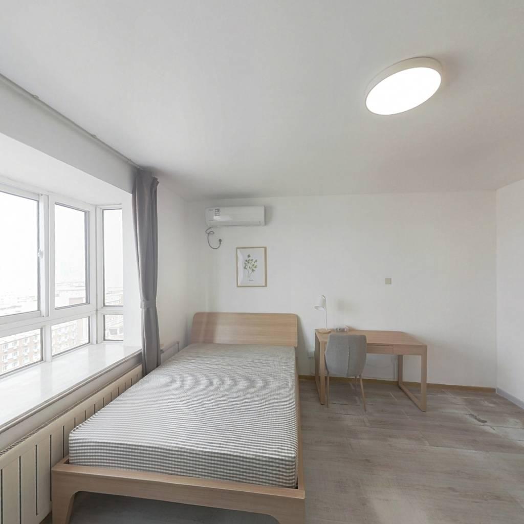 合租·锋泛国际 4室1厅 南卧室图