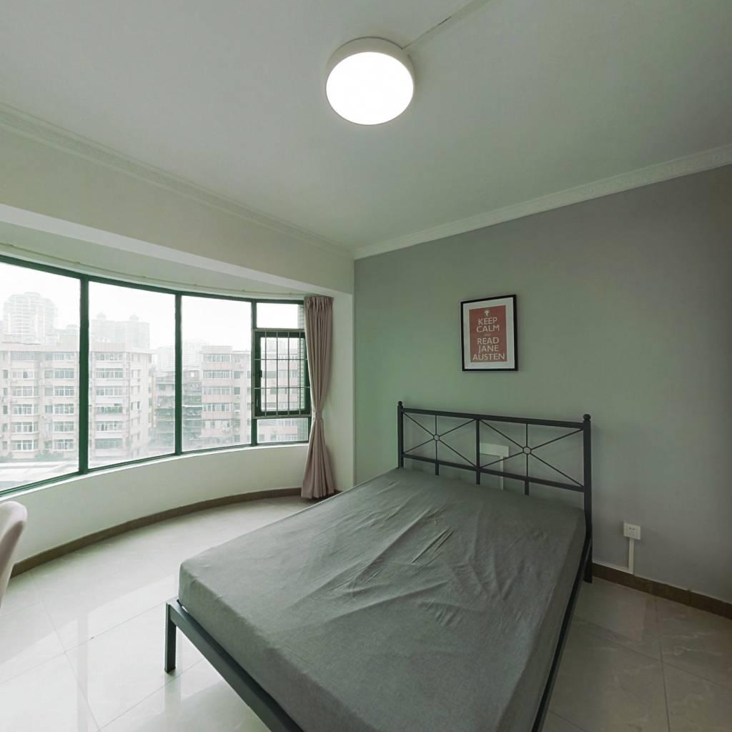 合租·富景花园 3室1厅 北卧室图