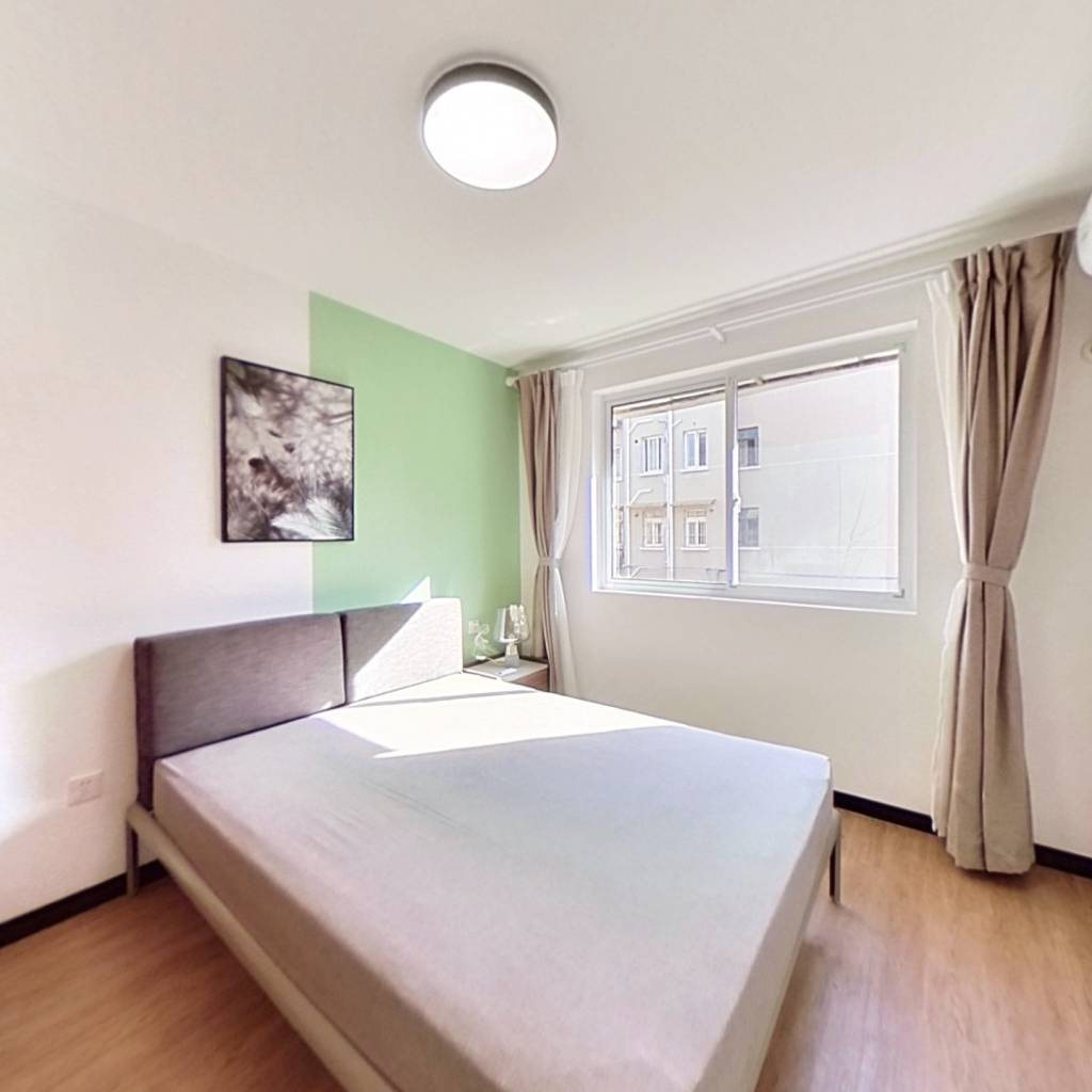 整租·金龙花苑玫瑰园 1室1厅 南卧室图