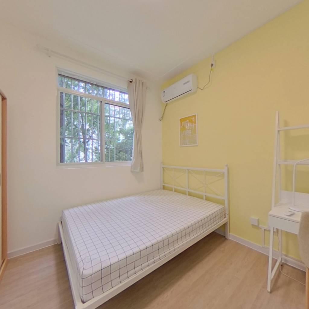 合租·申航小区 3室1厅 南卧室图
