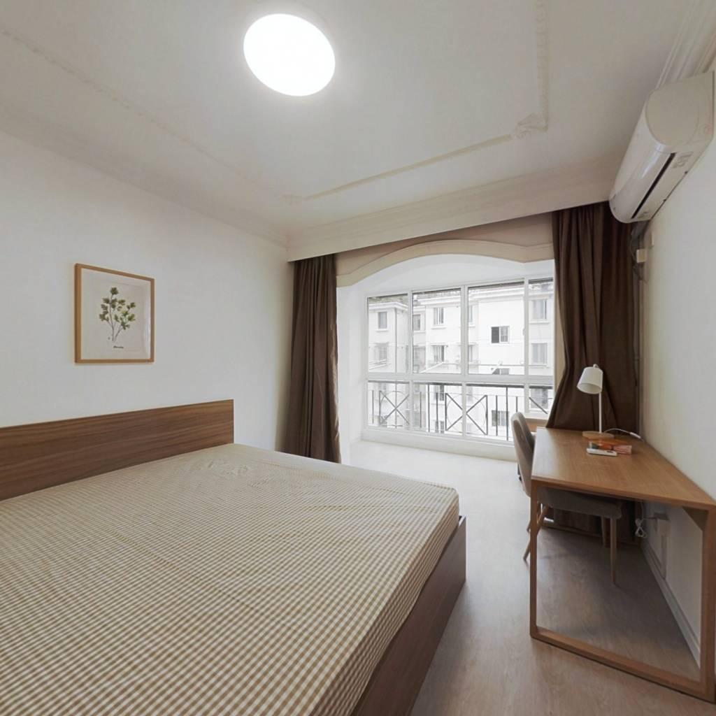 合租·明珠苑(浦东) 3室1厅 南卧室图