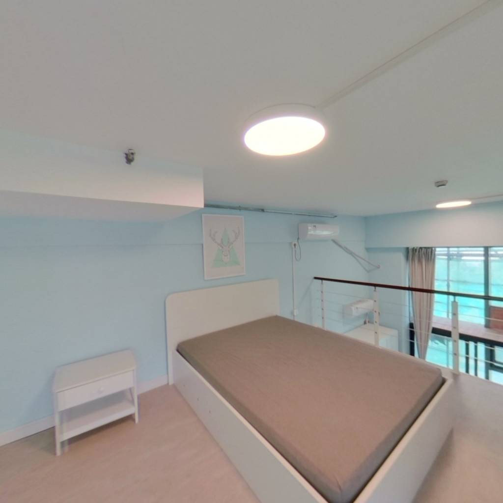 整租·绿地峰尚汇 1室1厅 北卧室图