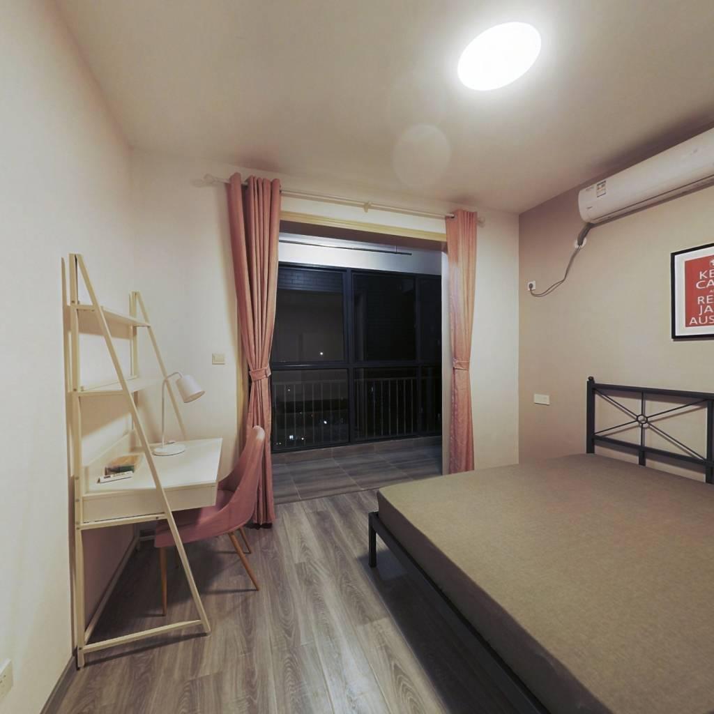 合租·惠风同庆花园 4室1厅 南卧室图