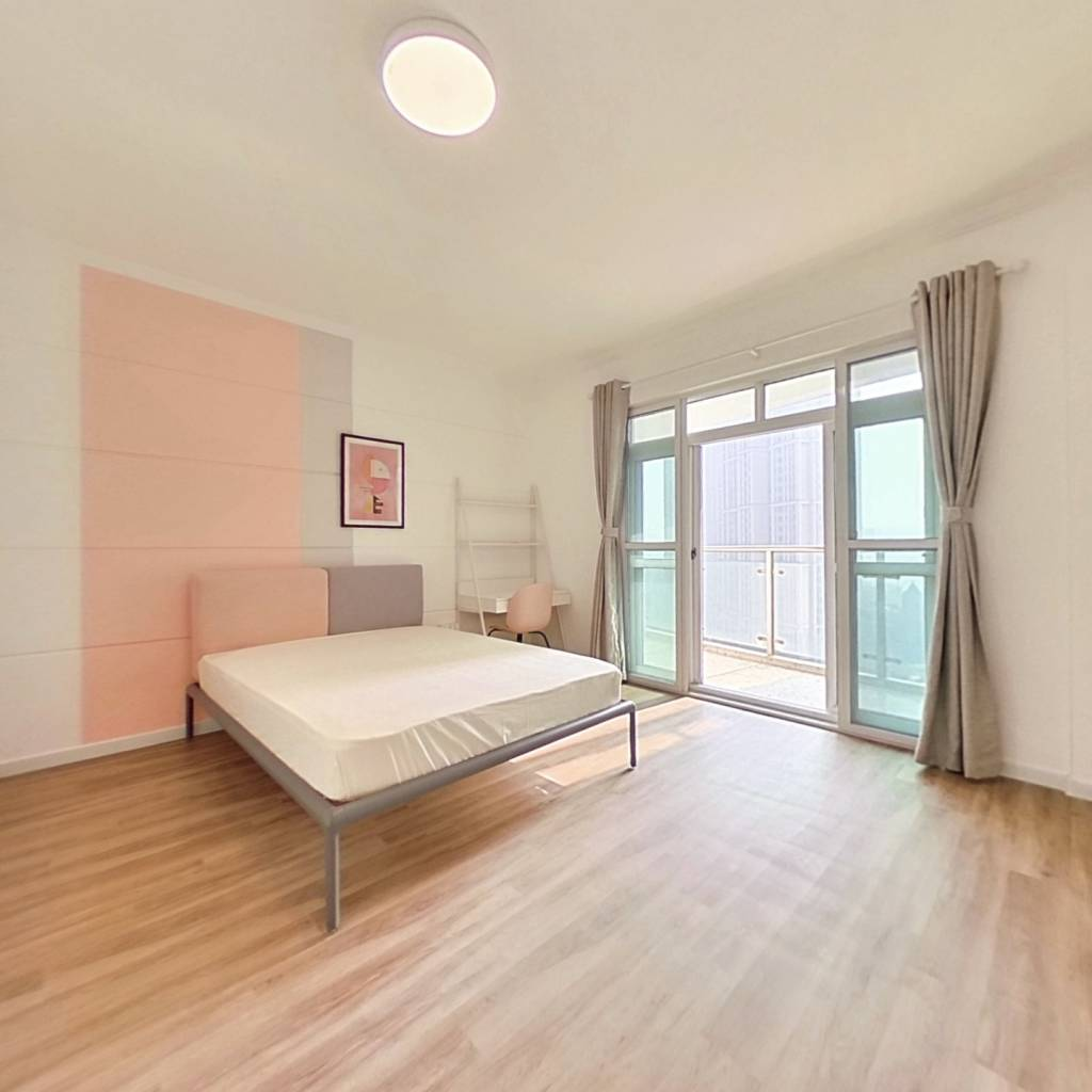 合租·丽水康城 4室1厅 南卧室图