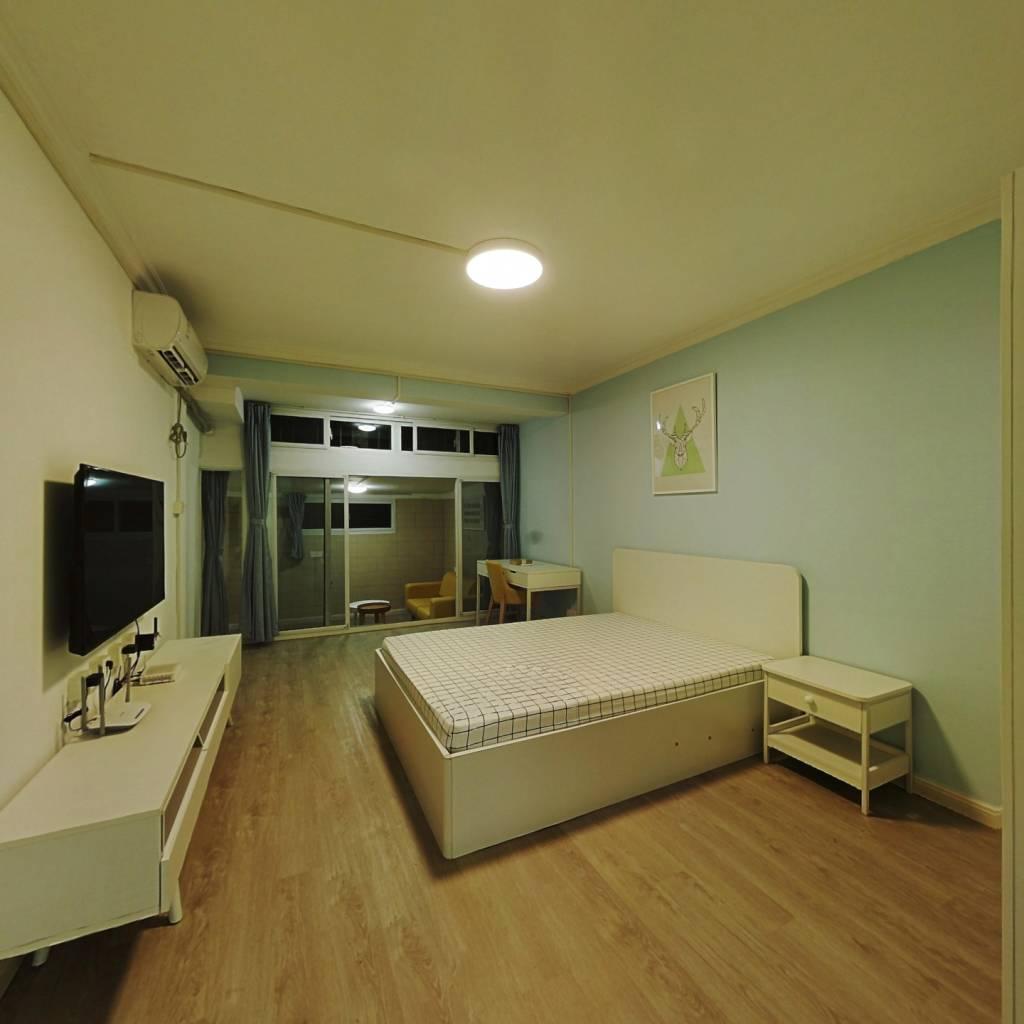 整租·金杨新村四街坊 1室1厅 南卧室图