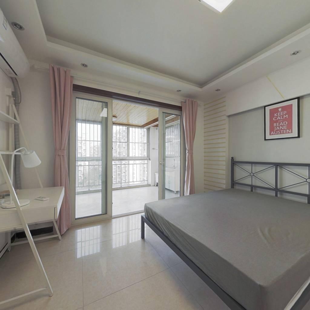 合租·蓝光富丽花城 4室1厅 南卧室图