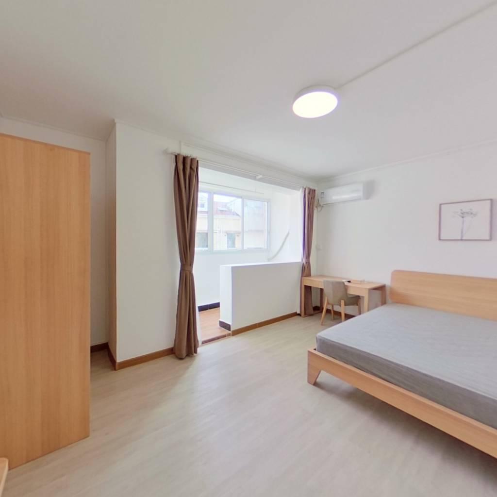 整租·华二小区(虹口) 1室1厅 南卧室图