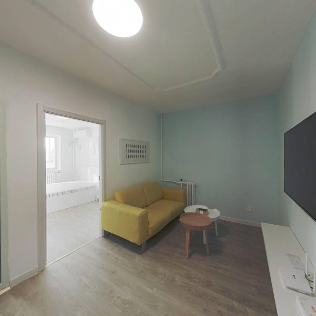 整租·芍药居北里 1室1厅 南卧室图