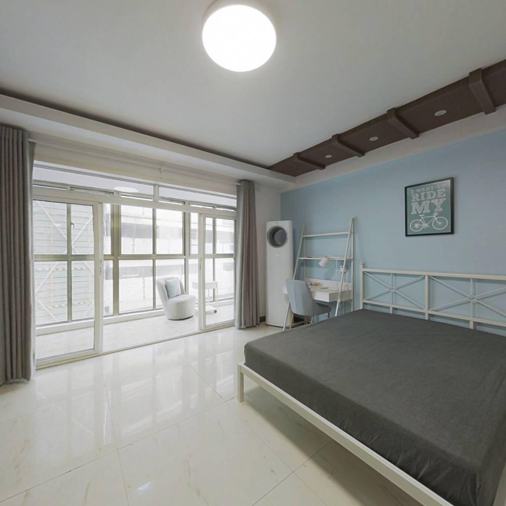 合租·宇济花园 4室1厅 南卧室图