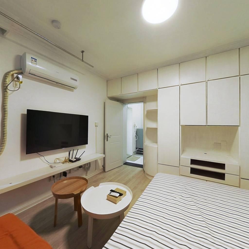 整租·新华坊社区 1室1厅 南卧室图