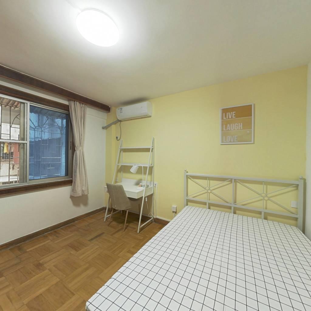 合租·共和南路 3室1厅 北卧室图
