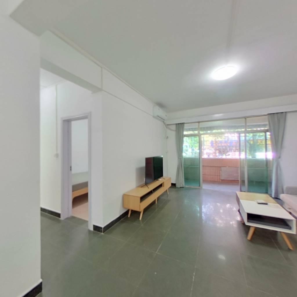整租·海滨城广场一期 2室1厅 东南卧室图