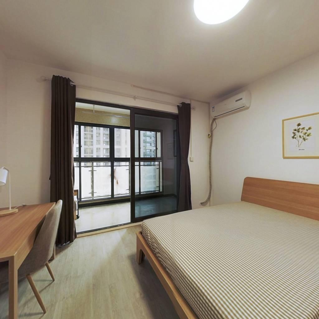 合租·电建地产盛世江城 4室1厅 北卧室图
