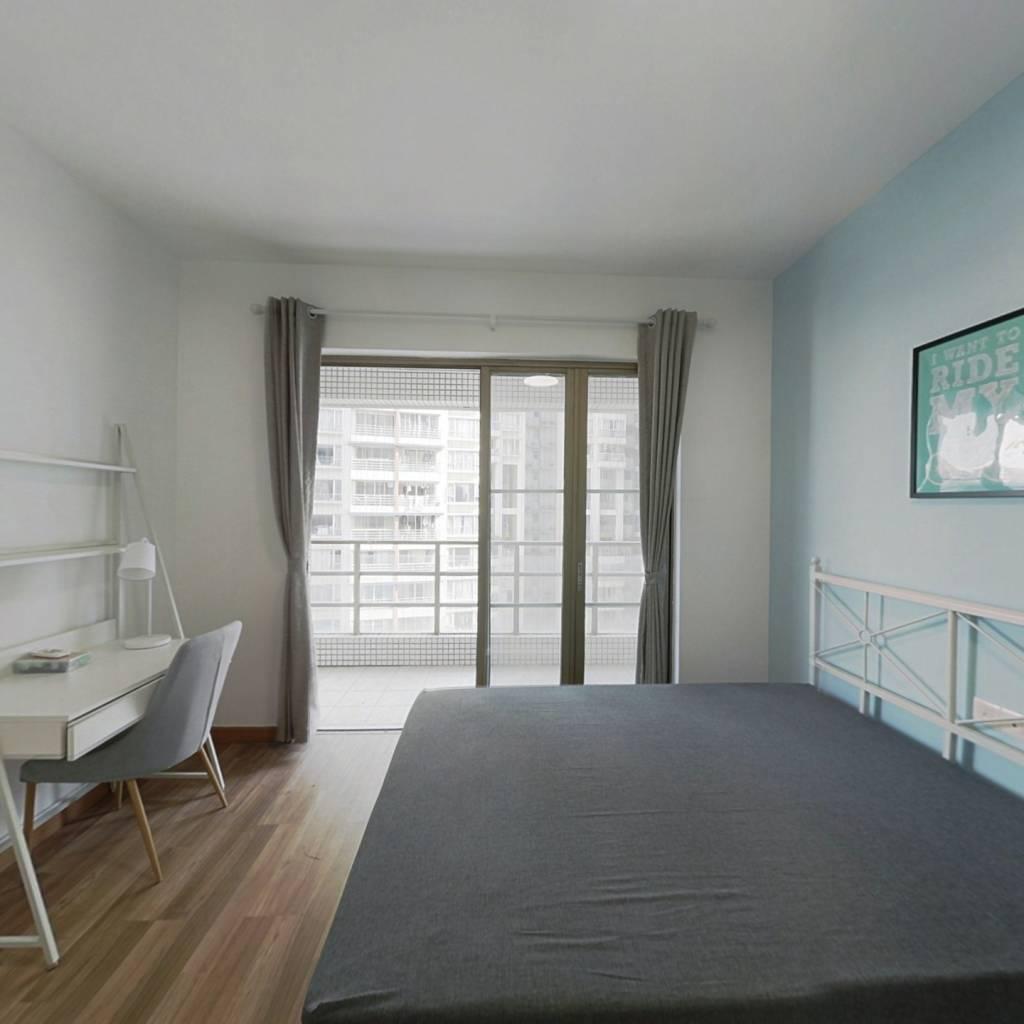 合租·华港花园 4室1厅 北卧室图