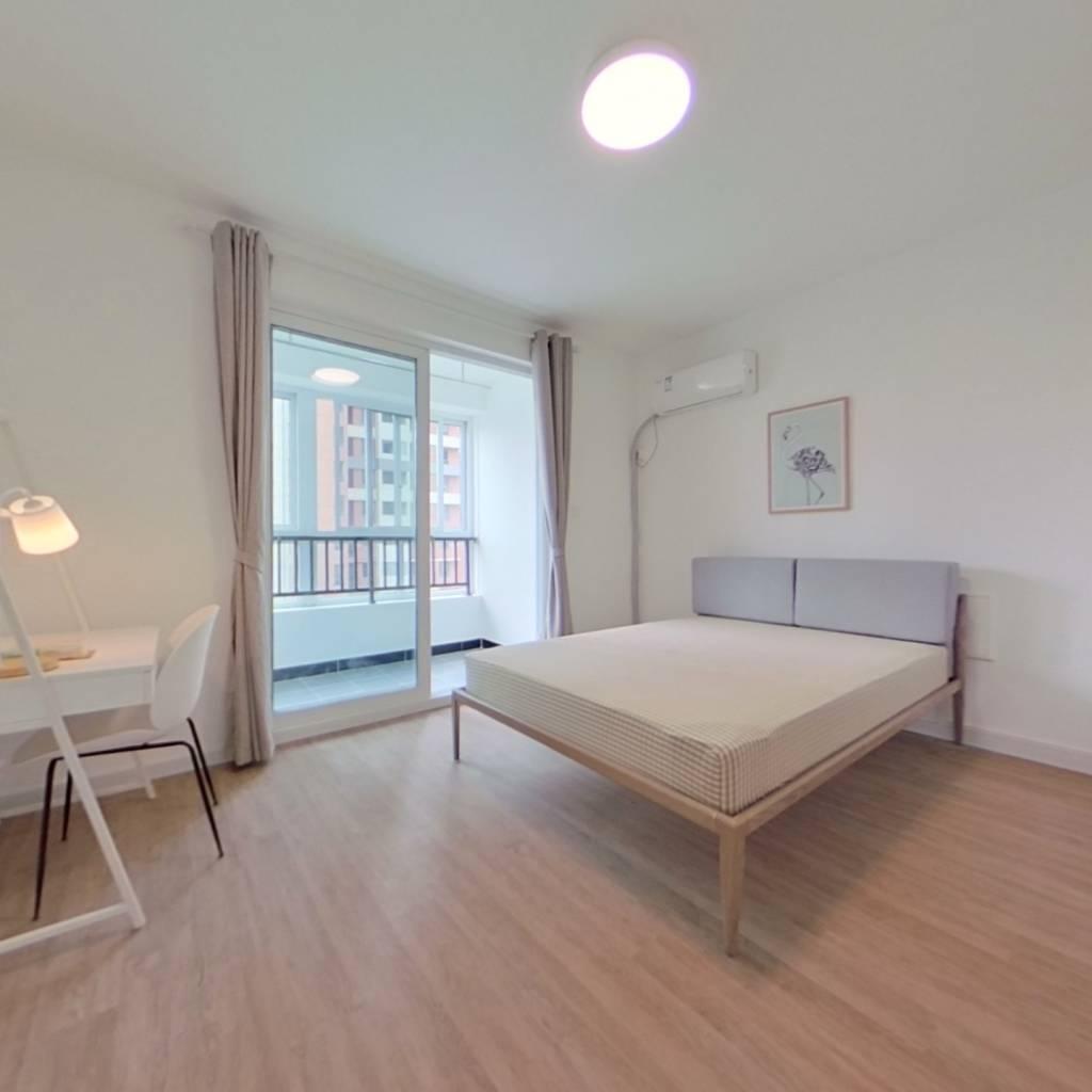 合租·枫树林景苑 4室1厅 南卧室图