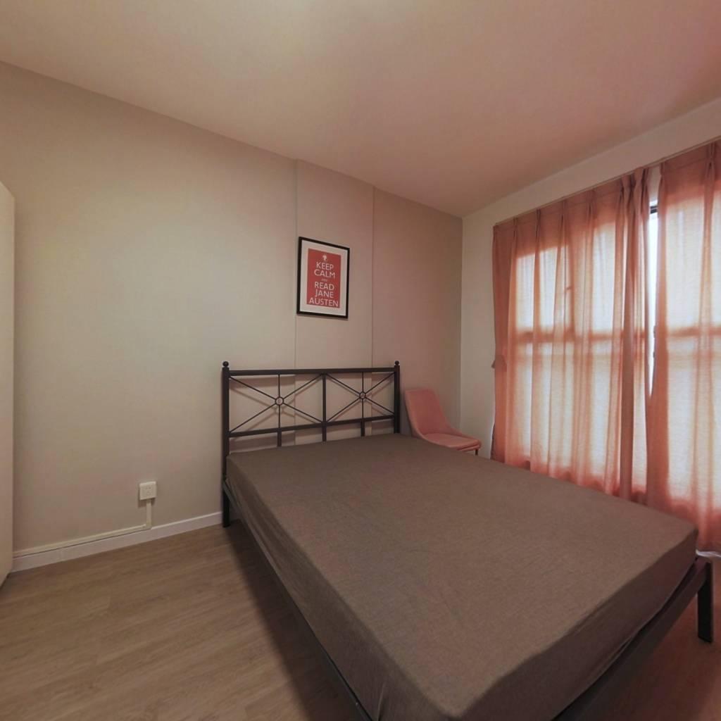 合租·普得先锋国际 4室1厅 东南卧室图