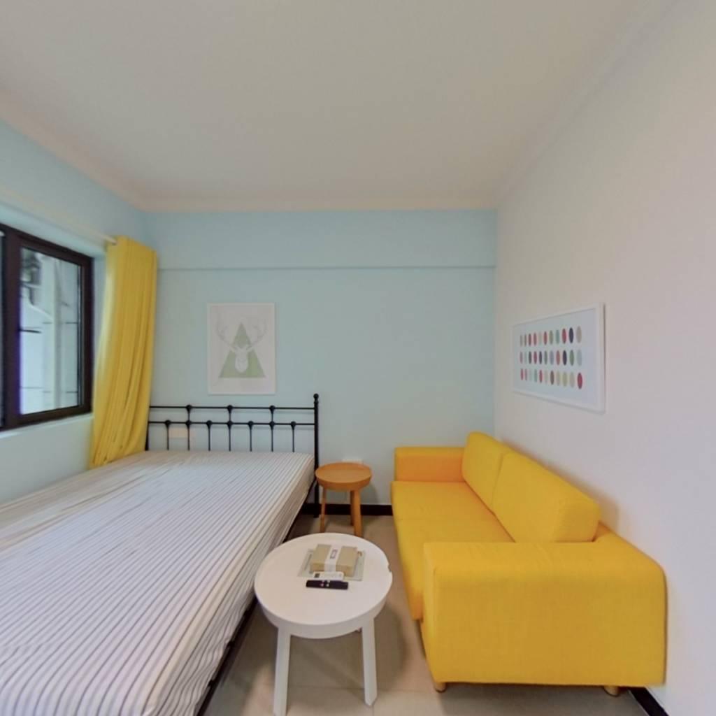 整租·天下龙岭广场 1室1厅 南卧室图